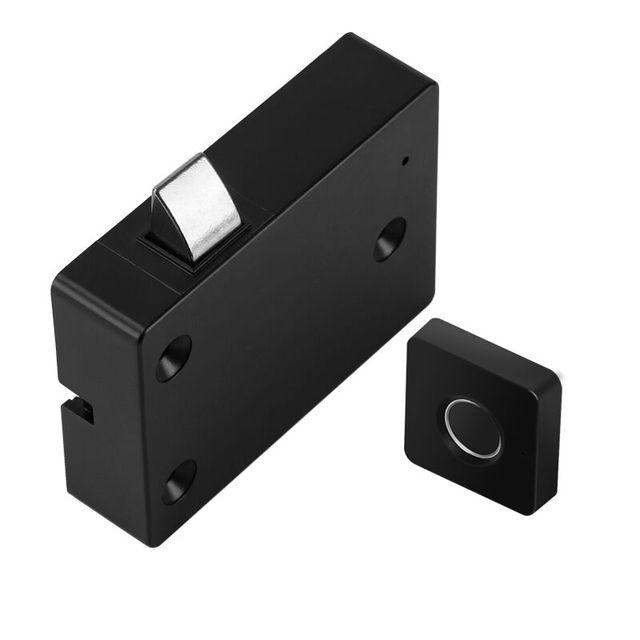 Drawer intelligent electronic lock file cabinet lock storage cabinet fingerprint lock cabinet door fingerprint lock furniture 3