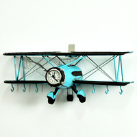 Direct sales new retro aircraft wall decoration pendant creative bar cafe shop decoration home room wall hanging decorations