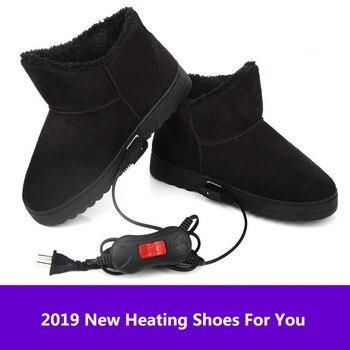 220V calentador eléctrico zapatos de calefacción calentador de temperatura calentador eléctrico de pie calentador botas de calefacción pie calentador de invierno