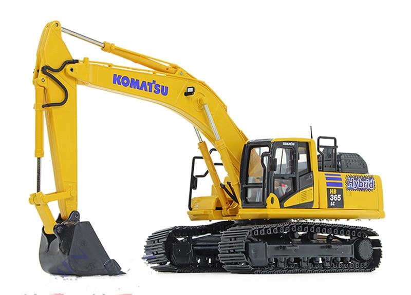 1//50 Diecast Metal Model Komatsu PC200 Tracked Excavator Vehicle Toy