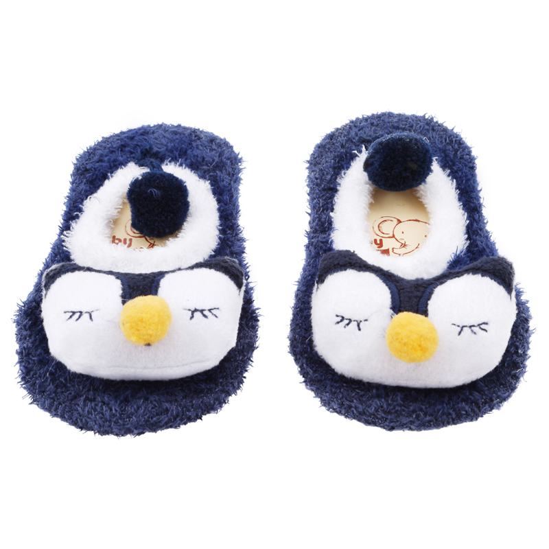 Новогодние Детские носки; сезон зима-весна; детские носки из кораллового флиса; мягкие нескользящие носки-тапочки для мальчиков и девочек;