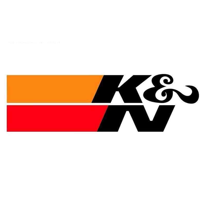 Аксессуары Персонализированная наклейка на автомобиль, ПВХ K & N, подходящая Водонепроницаемая Наклейка на окно мотоцикла для JEEP, Van, Bike, внед...