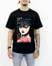 Uzumaki Junji Ito Shirt Japanese Horror T-Shirt Unisex Adult Clothing Executive New Fashion Men T shirt