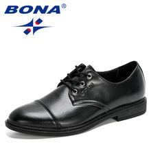 Bona/Новинка 2020 года; Дизайнерская деловая кожаная мужская
