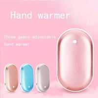 Hand Warmer Charging Treasure Anhydrous Usb Charging Hand Warmer Creative Cobblestone Mobile Power Mini Macaron Hand Warmer Gift|Stove Hand Warmers|   -