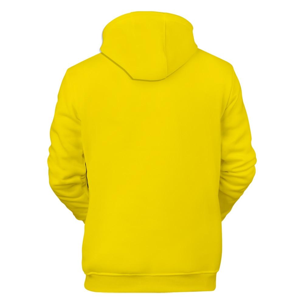 Image 3 - Funny Billie Eilish Harajuku NEON GREEN 3D Hoodies sweatshirt Men/Women spring Casual Hip hop Harajuku Hooded Sweatshirt Clothes-in Hoodies & Sweatshirts from Men's Clothing