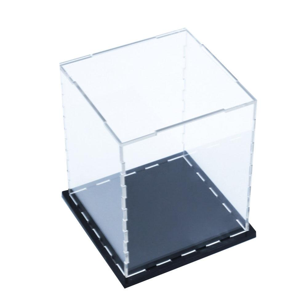 Acrylic/Plastic Display Case Box 12 Cm H Perspex Clear Dustproof Protection UV For Action Figure Models Collectibles