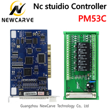 PM53C Nc Studio 3 Axis Controller Compatible WEIHONG Control System For CNC Router NEWCARVE все цены