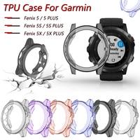 Schutzhülle Für Garmin Fenix 5 5S 5X Hohe Qualität TPU Abdeckung Dünne Smart Uhr Bumper Shell für Garmin fenix 5 / 5S / 5X Plus