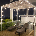 Waterproof Heavy Duty Outdoor Edison Bulb String lights Connectable Festoon for Party Garden Christmas Holiday Garland Cafe
