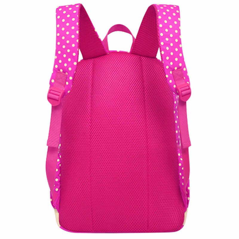Torby szkolne dla dziewczynek dzieci śliczny nadruk plecak szkolny 3 sztuk/zestaw plecaki szkolne dla dzieci moda plecaki ortopedyczne WBS485