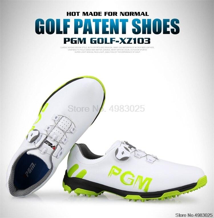 Pgm masculino profissional sapatos de golfe à