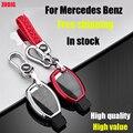ZOBIG 6 цветов дистанционного умный ТПУ чехол для ключей автомобиля для Benz W203 W210 W211 AMG C E S CLS CLK CLA SLK чехол для ключей держатель
