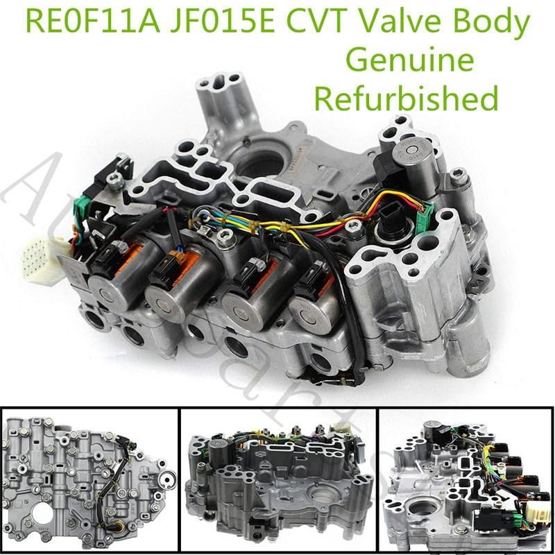 100% Grande Lavoro-RE0F11A JF015E Cvt Trasmissione Corpo Valvola per Chevrolet Spark Suzuki per Nissan Note Sentra Tiida Versa