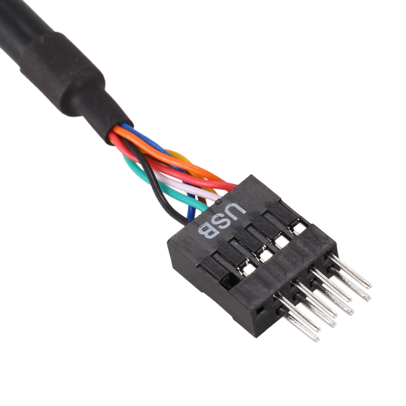 """4/"""" USB 3.0 20-Pin Motherboard Header Female to USB 2.0 8-Pin Male Adapter"""