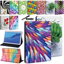Printing Leather PU Stand Tablet Cover Case for Huawei MediaPad T3 8.0/T3 10 9.6