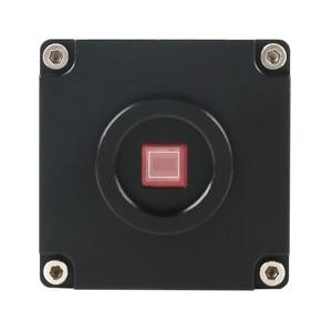 "Image 5 - 1080P 21MP HDMI HD industria Digital TF cámara de Video de microscopio Set + 180X/300X c mount lente + soporte de MESA + 144 LED Light + 8 ""LCD"