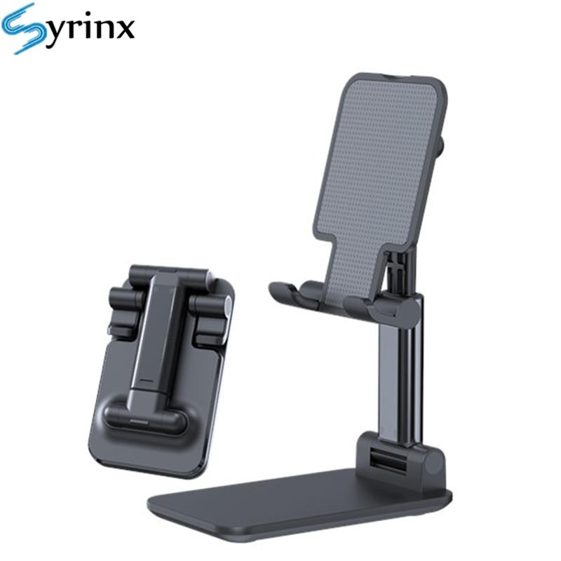 2020 Metal Desktop Tablet Holder Table Cell Foldable Extend Support Desk Mobile Phone Holder Stand For iPhone iPad Adjustable 2