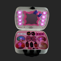 Complete Professional Makeup Washable Cosmetics Makeup Sets Girls Makeup Eyeshadow Lipstick Blush Birthday Toys for Children