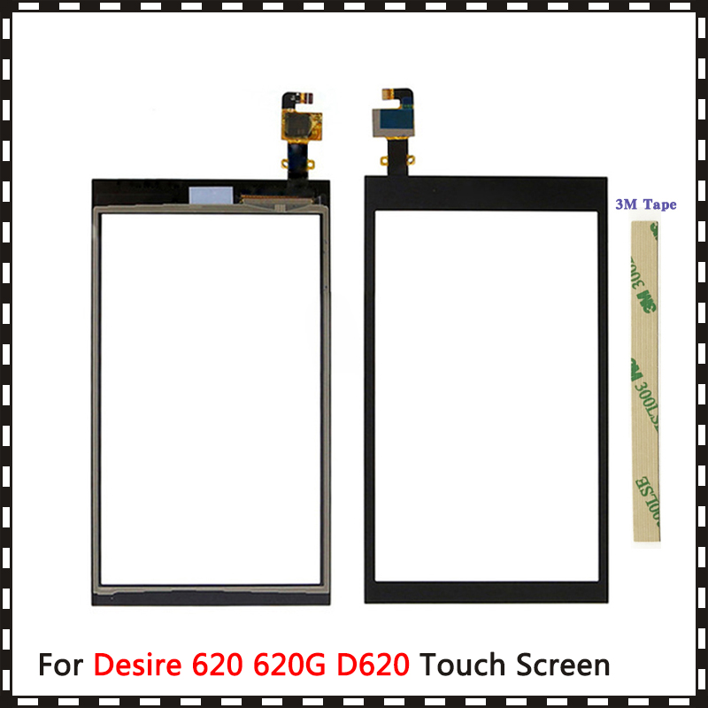 Сменный сенсорный экран, для HTC Desire 620 620G D620, сенсорный экран, дигитайзер, датчик, внешнее стекло, панель объектива