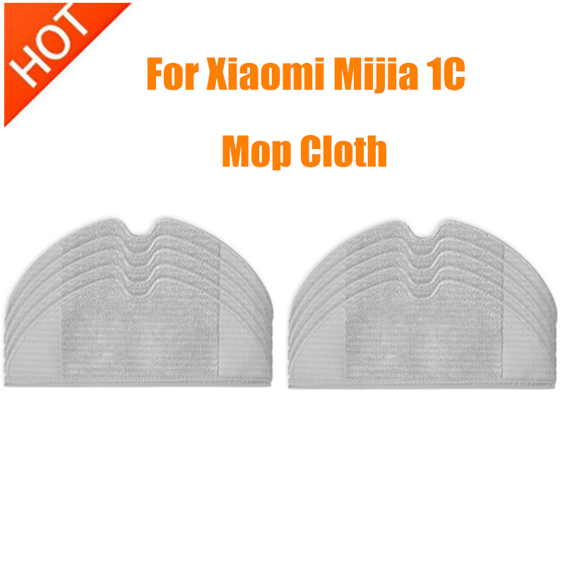 Mop Cloths Accessory Full Coverage For Xiaomi Mijia 1C Dreame F9 Vacuum Cleaner