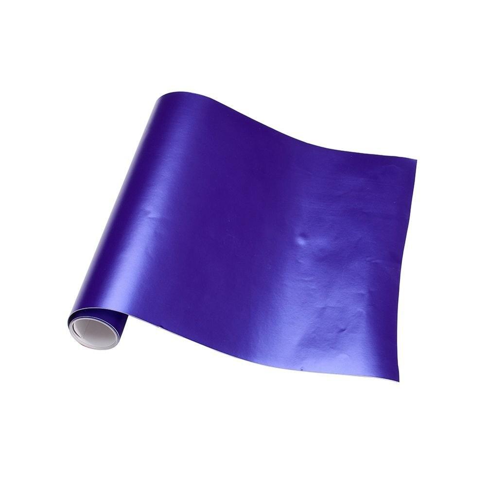 Новейшая 1,52x20 м/рулон автомобиля Стайлинг золотистая, песочного цвета, пурпурная автомобильная пленка оберточный лист для автомобиля рулон... - 3