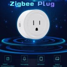 Ouhaobin Zigbee умная розетка США вилка переключатель для Amazon Alexa/Smart Things Hub приложение управление для Smart Things Hub/Wink Hub