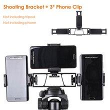 """Akıllı telefon Selfie çekim tutucu kamera telefon tripodu braketi w telefon klipsi 1/4 """"standı için Huawei iphone INS Youtube Facebook"""