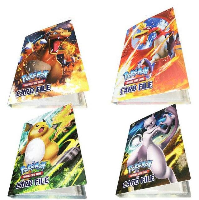 Fashion Card Collection For Pokemon Pokemon Cards Album Book Card Collection Book For 240 Cards