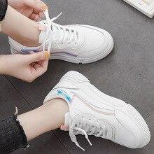 Platform White Sneakers Women Vulcanized Shoes