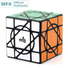MF8 Unicorn Axis Super Magic Cube Skewed Professional Speed Puzzle Twisty Antistress Fidget Educational Toys For Children mf8