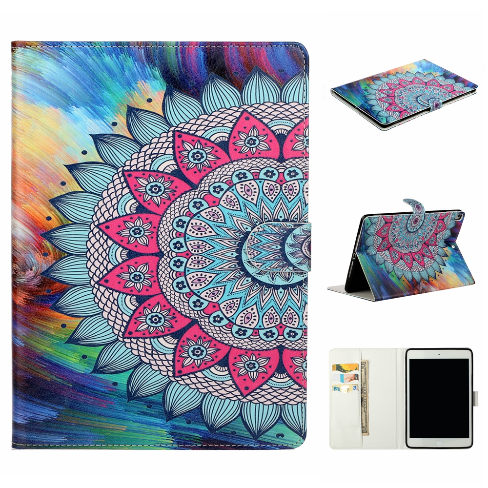 Case Blue Case For iPad 10 2 inch 2019 Stand Auto Sleep Smart Folio PU Leather Cover For