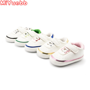 2019  Newborn Baby Shoes Girls Kids Pu Sneaker Soft Sole Comfortable Toddler Boys Shoes Baby Moccasins Baby First Walker Shoes цена 2017