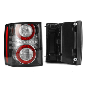 Image 5 - 1 Pair LED Rear Tail Light Brake Light Lamp With Bulb for Land Rover Range Rover 2010 2011 2012 Car Styling Replacement