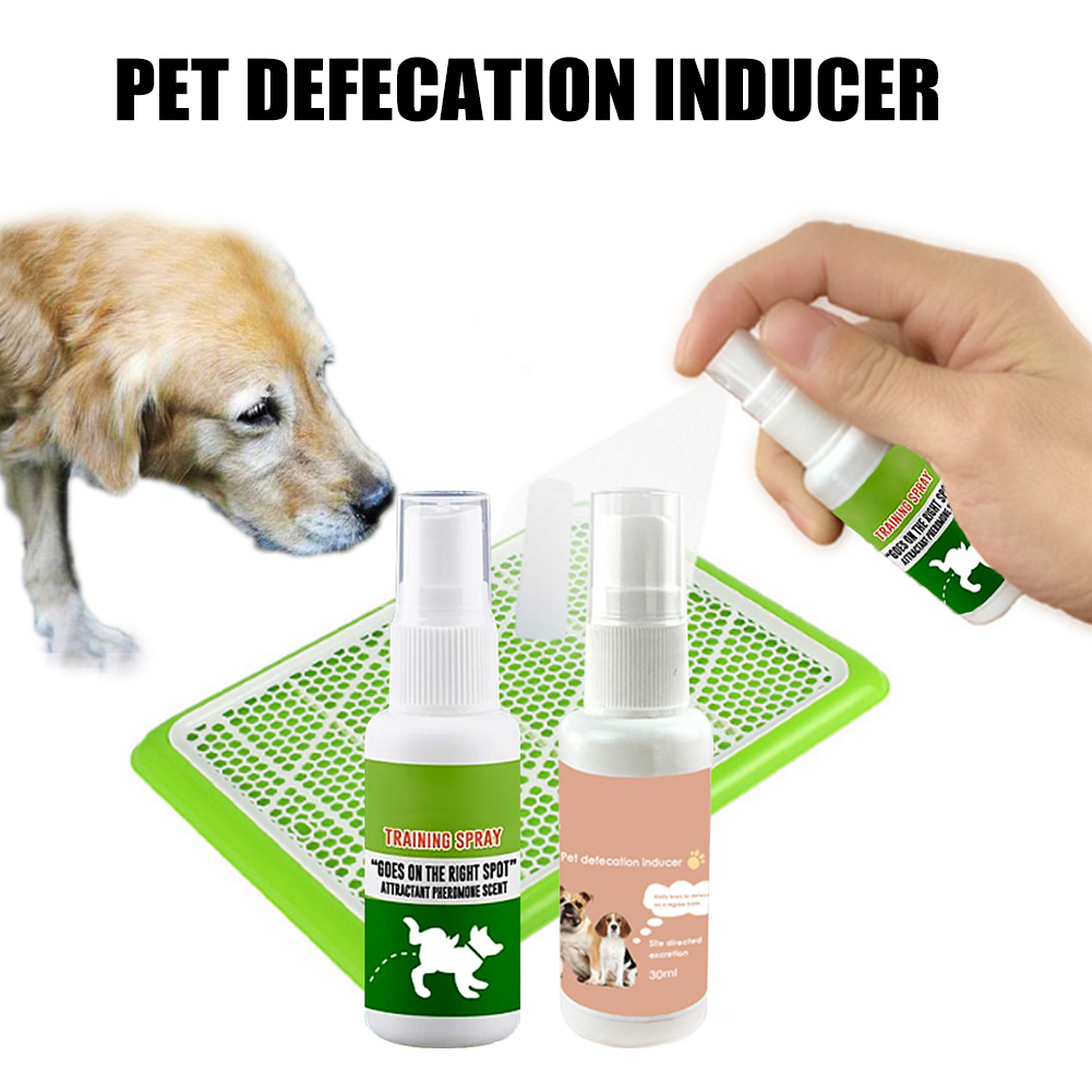 30ml Pet Dog Spray Inducer Dog Toilet Training Puppy Positioning Defecation Pet Potty Training Spray L9 #2