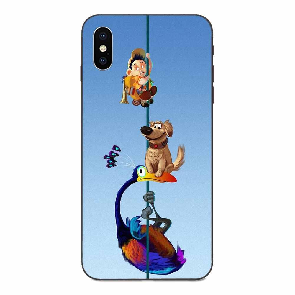 ผจญภัย Up Pixar Animation Movie บอลลูนบินสำหรับ Apple iPhone 4 4S 5S SE 6 6S 7 8 Plus X XS Max XR โทรศัพท์มือถือ