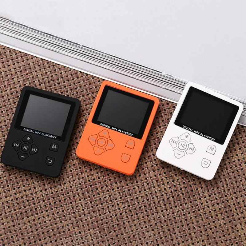 """1.8 """"Lcd スクリーン MP3 MP4 プレーヤーサポートからまで 32 ギガバイト TF メモリカードハイファイ fm ラジオミニ USB 音楽プレーヤーウォークマンプレーヤービデオフォトビューアの Ebook"""