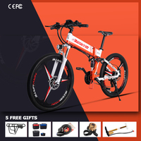 Electric bicycle 350W 12.8AH 21 speed electric bicycle electric vehicle 26 off road electric bicycle