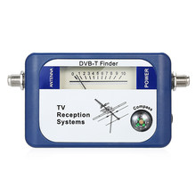 DVB-T Tv-antenne Finder Digitale Antenne Terrestrial Signaal Sterkte Meter Pointer TV Satellietontvanger met Kompas Power Kabel(China)