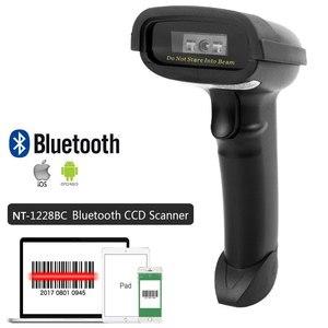Image 2 - Netum m3 scanner de códigos de barras, com fio ccd e leitor de código de barras portátil m2 sem fio 32bit alta velocidade pos scanner de código de barras para inventário