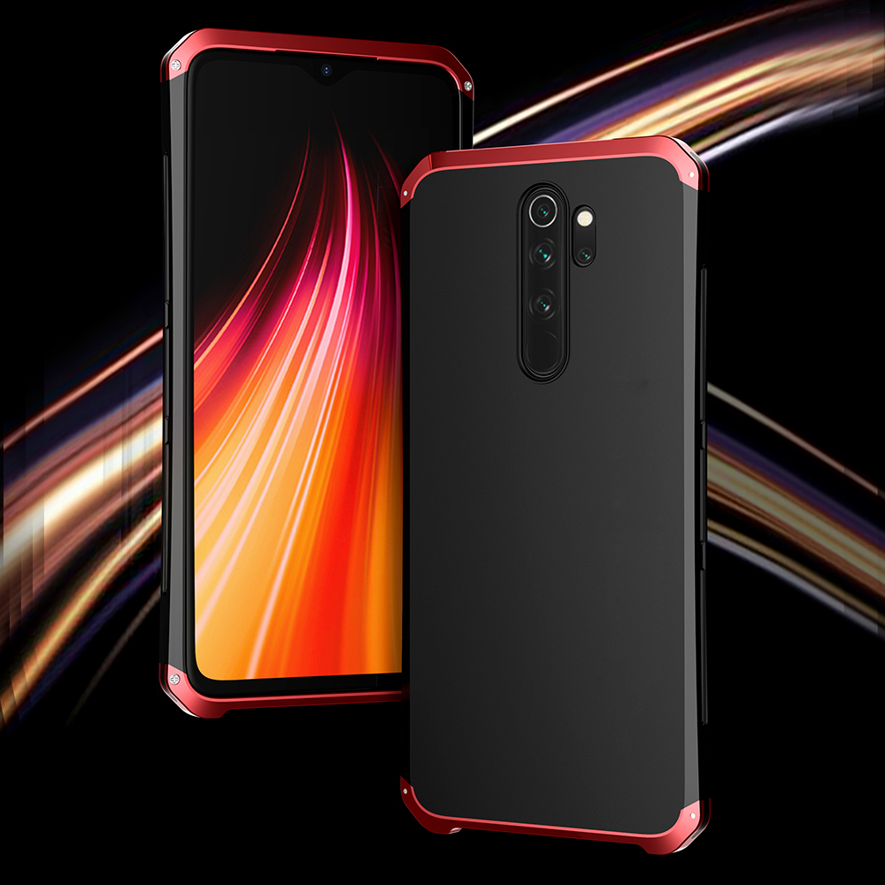 Case For Xiaomi Redmi Note 8 Pro Aluminum Metal Frame Hard Plastic Back Cover For Xiaomi Redmi Note 8 Pro Fundas Perfect Feeling|Fitted Cases| |  - title=