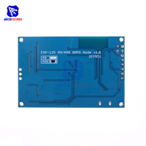 Image 2 - diymore ESP8266 ESP 12S CH340 A9G GSM GPRS + GPS IOT Node V1.0 Cellular Module Development Board Dual IPEX Antenna for Arduino