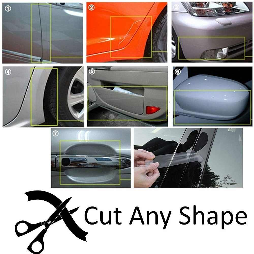 Protector de la pintura del parachoques de la superficie de la pintura del coche