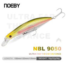 NOEBY NBL9050 Minnow Fishing Lures Hard Bait 120mm/22g 135mm/28g Floating Tackle for Bass Pike