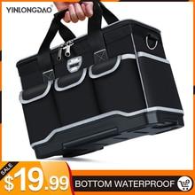 """أكياس أداة متعددة المهام حجم 13 """"16"""" 18 """"20"""" أكسفورد حقيبة ملابس أعلى واسعة الفم كهربائي مجموعة أدوات خاصة أكياس مجموعة أدوات مقاوم للماء"""