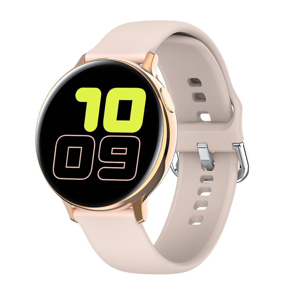 LEMFO S20 ECG Smart Watch Men Women Full Touch Screen IP68 Waterproof Heart Rate Monitor Blood Pressure Smartwatch