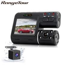 كاميرا مزدوجة DVR i1000 كامل HD 1080P عدسة مزدوجة داش كامير فيديو مسجل 2 كاميرا كاميرا مراقبة DVR للرؤية الليلية للسيارات كاميرا الفيديو i1000s