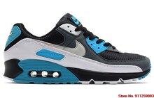 Air MAX 90 – baskets de Sport classiques pour hommes, chaussures de course noires et blanches, tailles 36 à 45