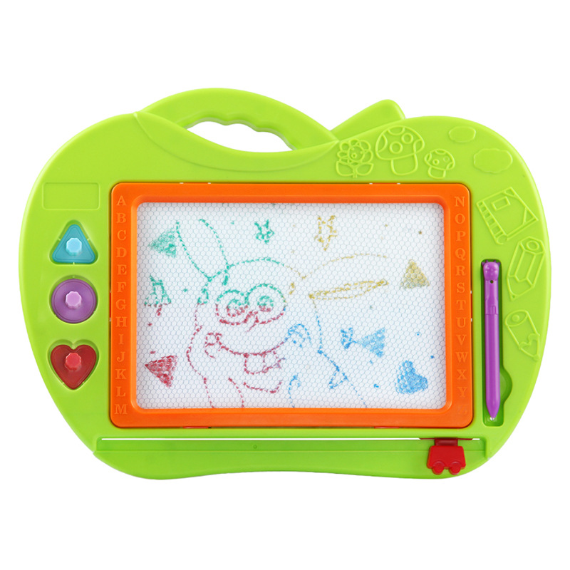 Children Toy Drawing Board Magnetic Color Kids Writing Board 1-2-3-Year-Old Baby Blackboard 5 Infants Educational Toy