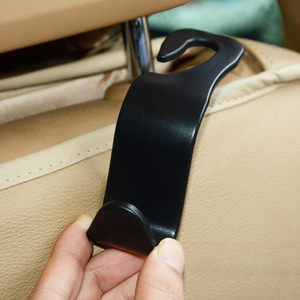 2020 1/2/4Pcs Universal Car Seat Back Hook Car Accessories Interior Portable Hanger Holder Storage for Car Bag Purse Cloth